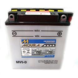 Bateria Moura Moto 5,5Ah - MV5,5-D