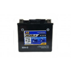 Bateria Moura Moto 4Ah - MA4-D