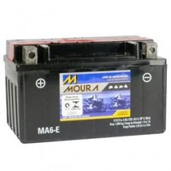 Bateria Moura Moto 6Ah - MA6-E ( Antiga MA7-E )