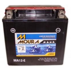 Bateria Moura Moto 12Ah MA12-E